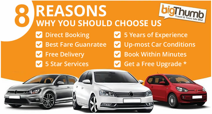 8 reasons to choose big thumb car rental